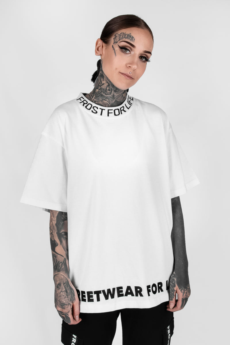FOR LIFE OVERSIZED CREW NECK TSHIRT