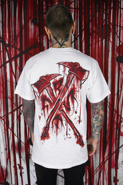 AXES T SHIRT WHITE