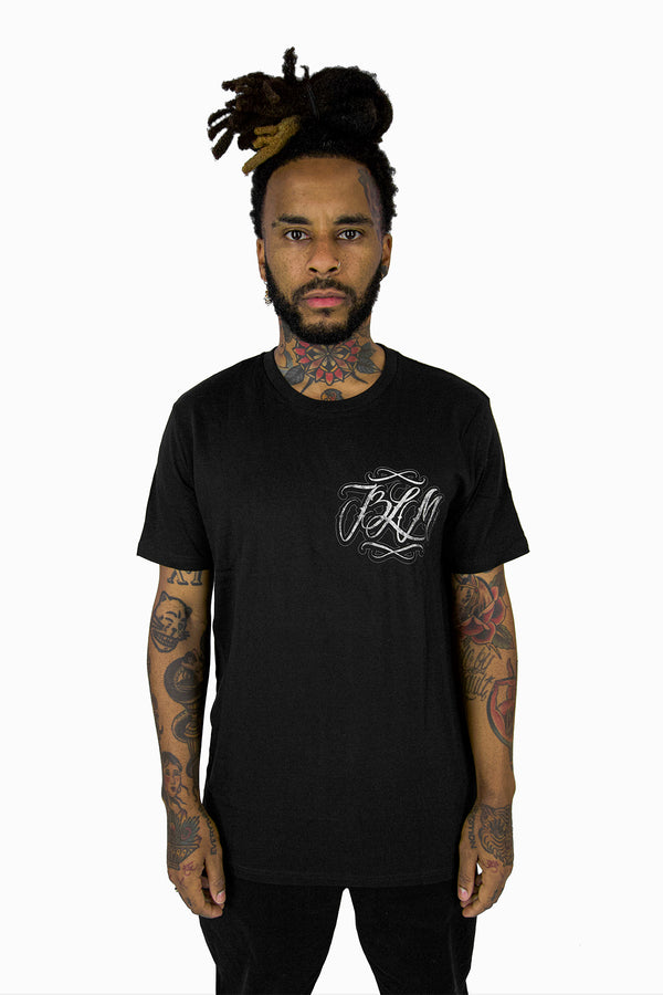BLM BACK PRINT TSHIRT BLACK