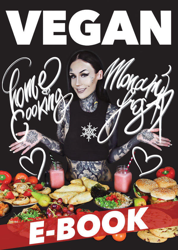 E-BOOK - VEGAN HOME COOKING WITH MONAMI FROST