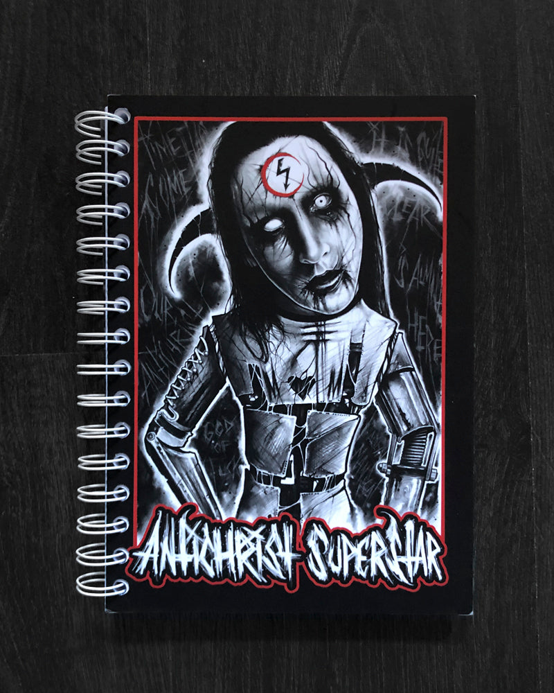 A5 NOTEBOOK - ANTICHRIST SUPERSTAR