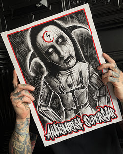 A3 PRINT - ANTICHRIST SUPERSTAR