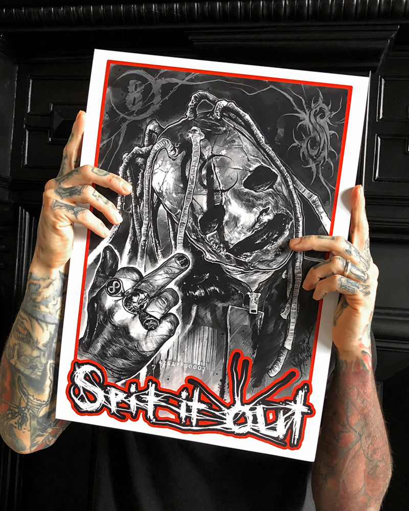 A3 PRINT - SPIT IT OUT