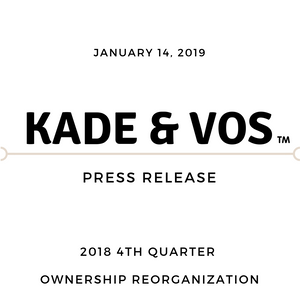 4th Quarter 2018 Ownership Reorganization