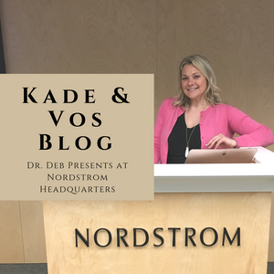 Dr. Deb presents to Nordstrom about Weight Bias