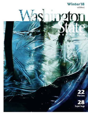 Washington State University Alumni Magazine Kade & Vos Winter Feature