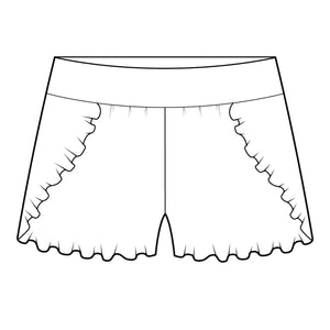 Feather Flutter Short