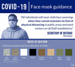 DoD Approved Face Coverings
