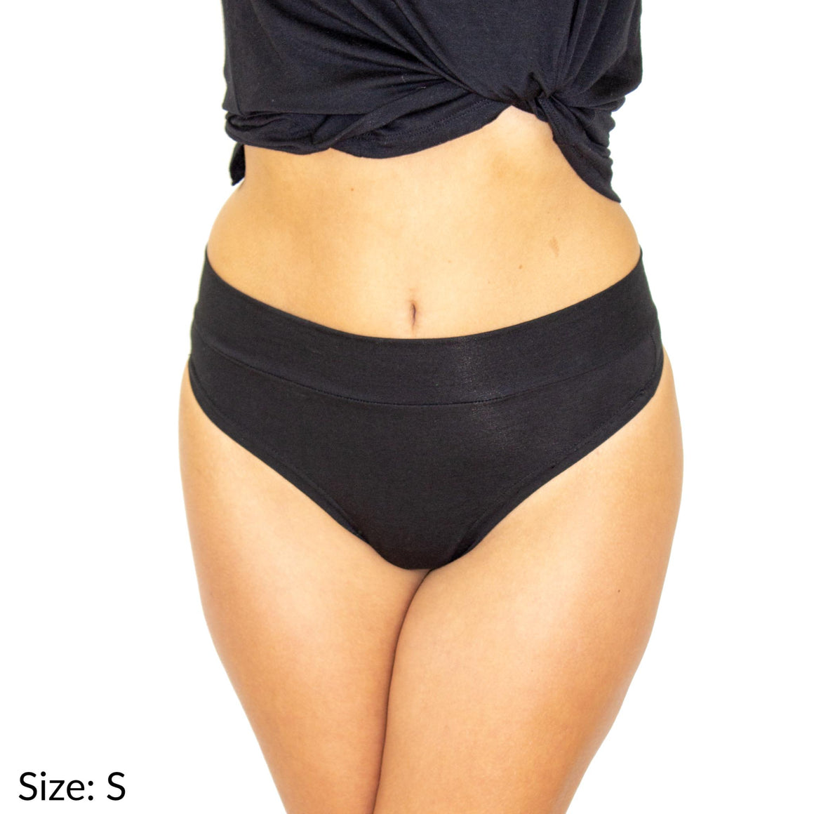 Size Small to 6L Signature Thong Supima Cotton wicking moisture management comfortable yoga panties underwear