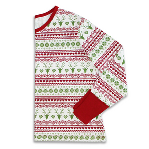 Fair Isle Holiday Long Sleeved Shirt