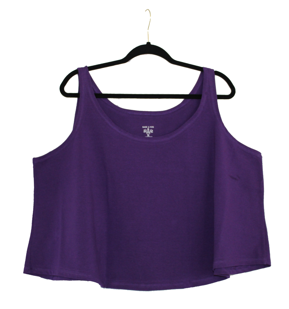 Cropped Tank - Purple