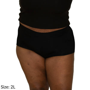 Size 2L Signature Short Supima Cotton wicking moisture management comfortable plus size
