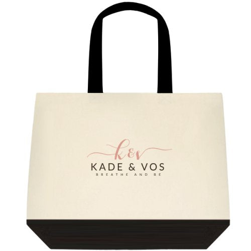 Deluxe K&V Cotton Tote Bag
