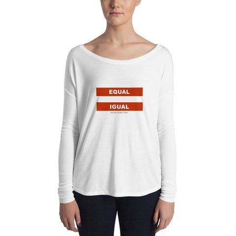 Equal Igual Ladies' Long Sleeve Tee