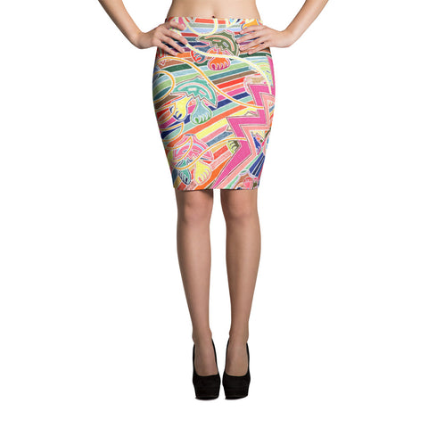 SEVERANCEPAY GVB 2714 Pencil Skirt