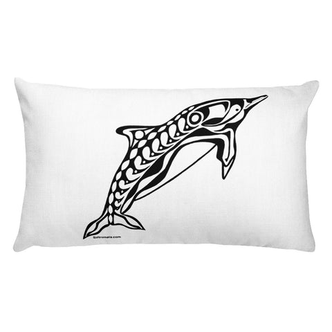 Dolphin #3 Rectangular Pillow