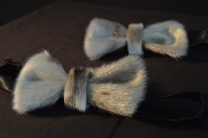 Seal Skin Bow Tie