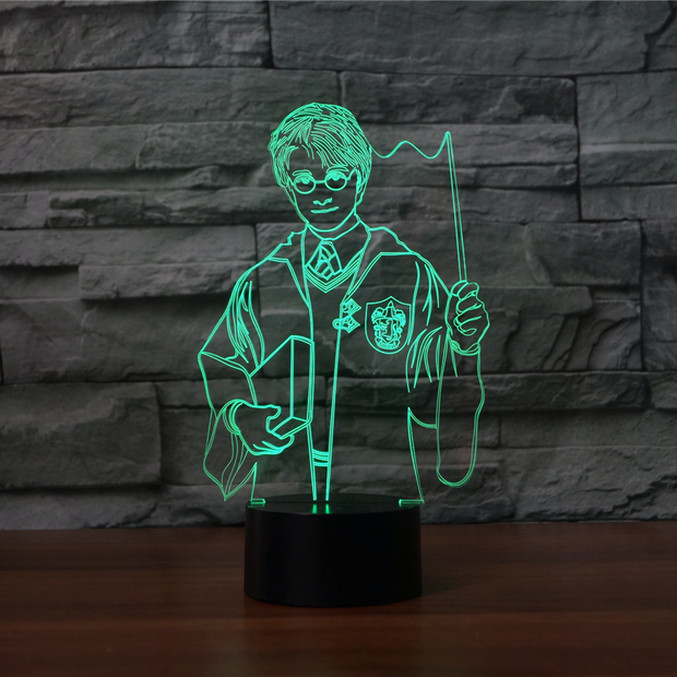 Lampe Harry Potter 3D