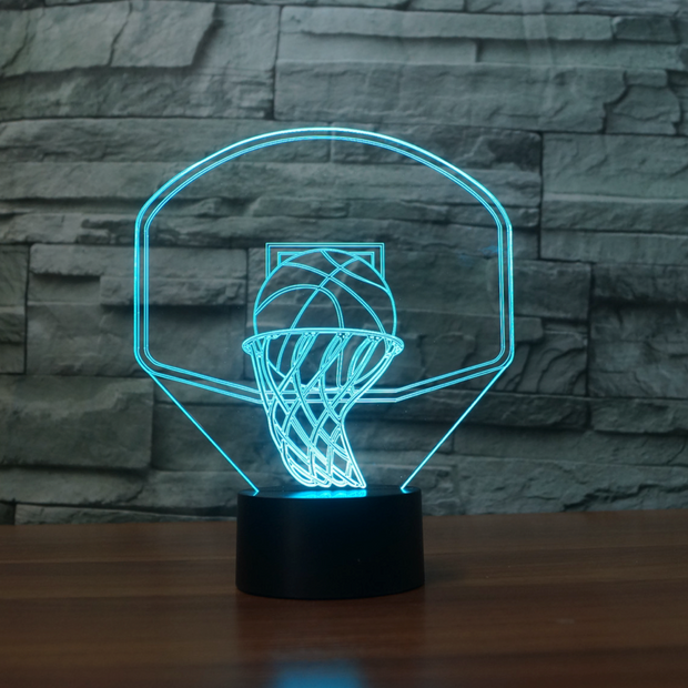 Lampe Basket Ball 3D