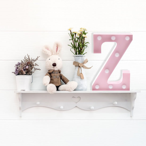 Lampe Lettres Rose A-Z