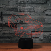 Lampe Ford Mustang 3D