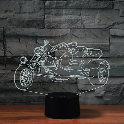 Lampe Tricycle 3D