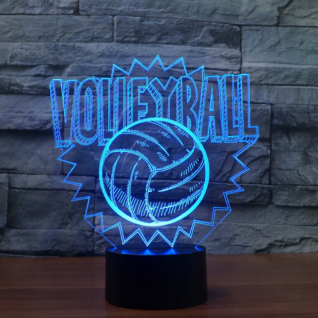 Lampe 3D Volley-Ball
