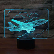 Lampe 3D - Avion de ligne-Lampe 3D-LUMINEEZ-LUMINEEZ