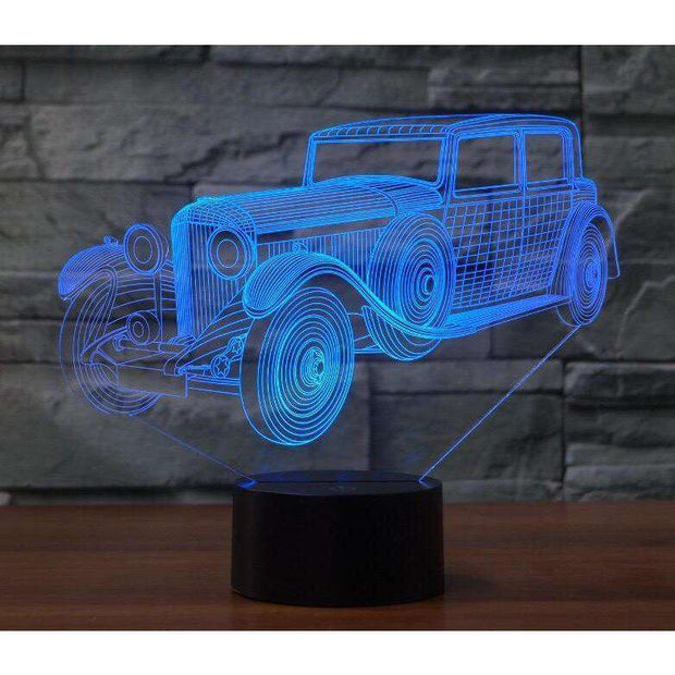 Lampe 3D - Collection-Lampe 3D - Voiture Ancienne 3-LUMINEEZ-LUMINEEZ