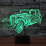 Lampe 3D Voiture de Collection | Lampe LED Voiture de Collection | Lumineez