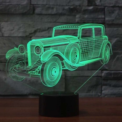 Lampe 3D Voiture de Collection
