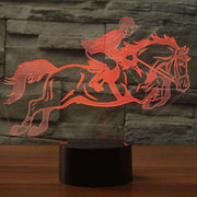 Lampe 3D - Équitation-Lampe 3D-LUMINEEZ-LUMINEEZ