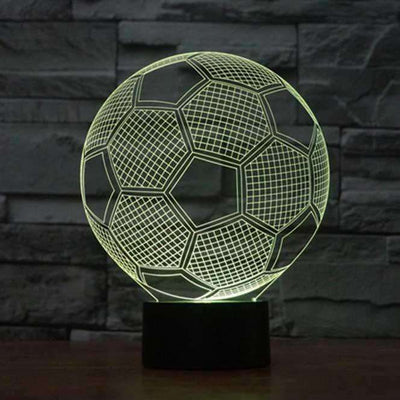 Lampe 3D - Football-Lampe 3D - Football-Lumineez-LUMINEEZ