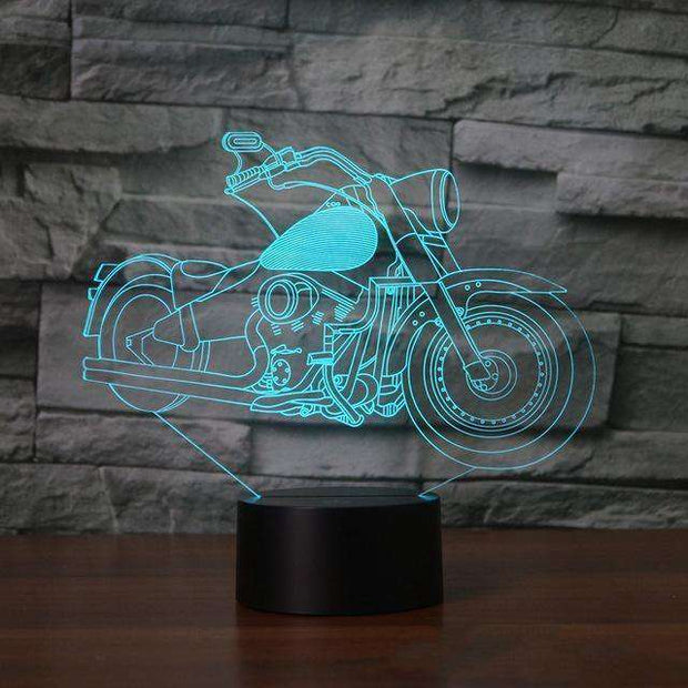 Lampe 3D - Moto Rock'n Roll-Lampe 3D - Moto Rock 3-LUMINEEZ-LUMINEEZ