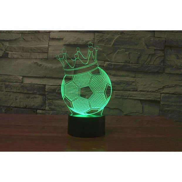Lampe 3D - Roi du Football-Lampe 3D - Roi du Football-LUMINEEZ-LUMINEEZ