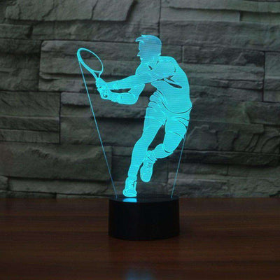 Lampe 3D - Tennis-Lampe 3D-LUMINEEZ-LUMINEEZ