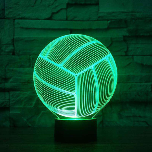 Lampe 3D - Volley-Ball-Lampe 3D - Volley-ball-LUMINEEZ-LUMINEEZ