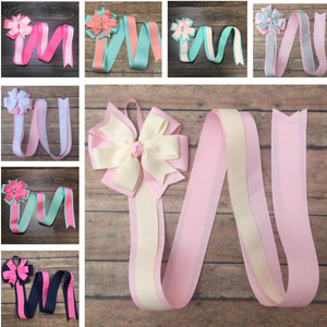 Pinwheel Bow Holders