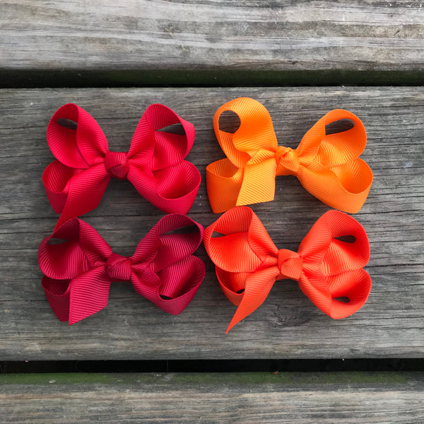 "3"" Solid Boutique Bow"