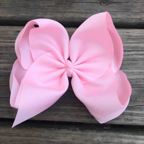 "6"" Solid Boutique Bow"
