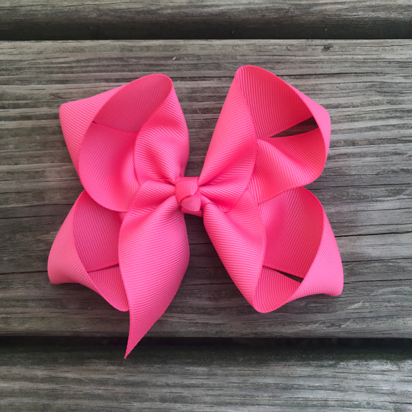 "5"" Solid Boutique Bow"