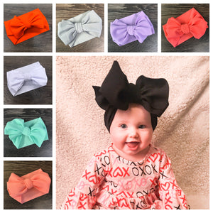 "7"" Bow Fabric Headband"