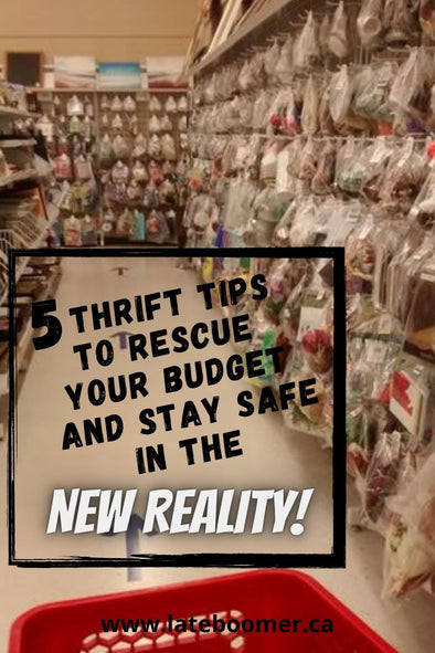 5 Top Tips for Thrifting in the New Reality