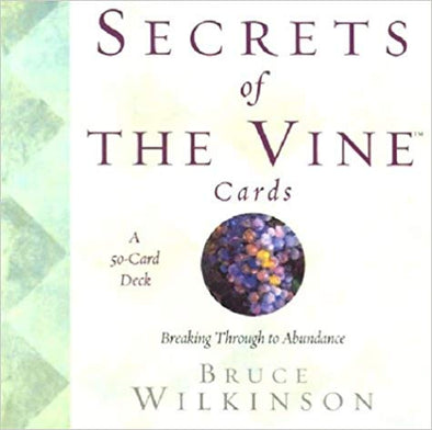 Secrets of The Vine 50 Card oracle deck by Bruce Wilkinson