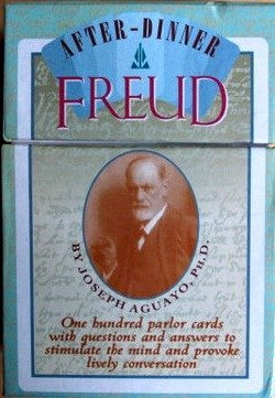After Dinner Freud Parlor Cards Boxed Set by Joseph Aguayo Vintage 1995 - Late Boomer Vintage