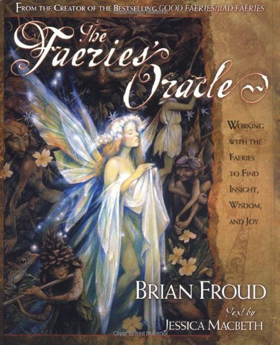 The Faeries Oracle Book and Card Set Brian Froud Jessica MacBeth Vintage 2000 - Late Boomer Vintage