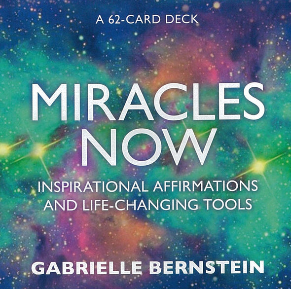 Miracles Now by Gabrielle Bernstein inspirational affirmation card set - Late Boomer Vintage