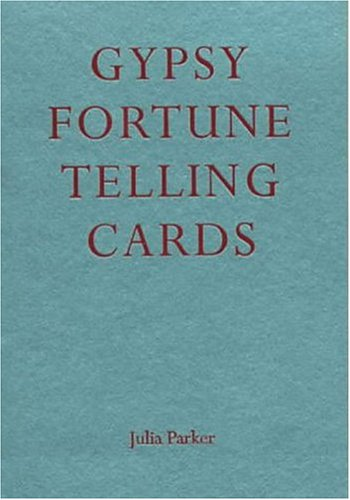 Gypsy Fortune Telling Cards and Book by Julia Parker boxed set playing cards - Late Boomer Vintage