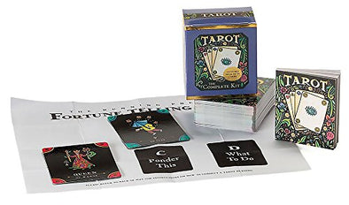 Tarot The Complete Kit 78 Card Deck and Book Set Vintage 2002 Mega Mini Kit Fortune Telling