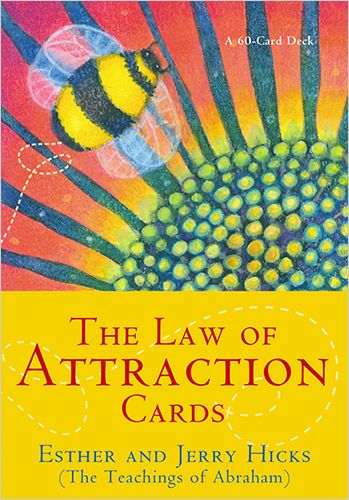 The Law of Attraction Cards by Esther and Jerry Hicks oracle cards